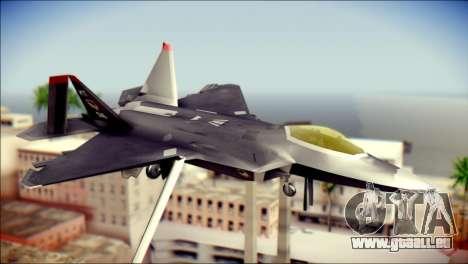 F-22 Raptor Razgriz für GTA San Andreas