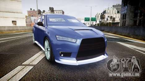 GTA V Karin Kuruma Armored color pour GTA 4