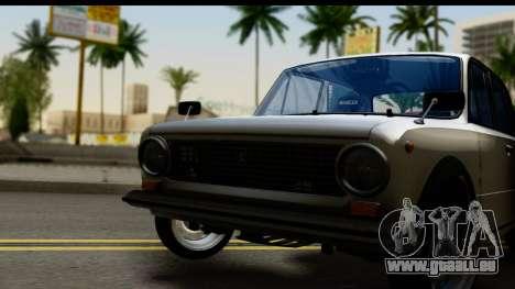 VAZ 2101 Crampes pour GTA San Andreas sur la vue arrière gauche