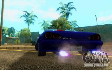 Elegy WorldDrift v1 pour GTA San Andreas vue de droite