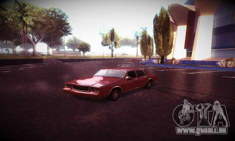 Ebin 7 ENB pour GTA San Andreas dixième écran