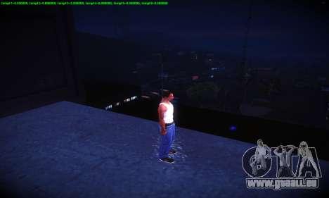 Ebin 7 ENB für GTA San Andreas achten Screenshot