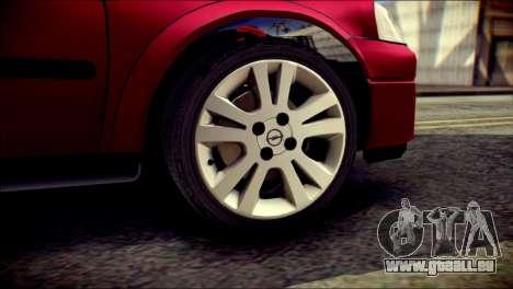 Opel Astra G Caravan pour GTA San Andreas sur la vue arrière gauche