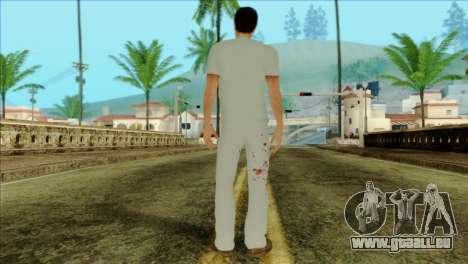 ER Alex Shepherd Skin without Flashlight für GTA San Andreas zweiten Screenshot