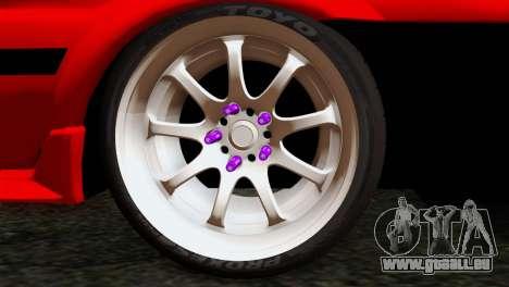 Toyota AE86 pour GTA San Andreas sur la vue arrière gauche