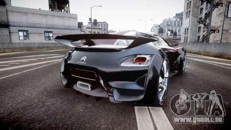 Citroen Survolt pour GTA 4 Vue arrière de la gauche