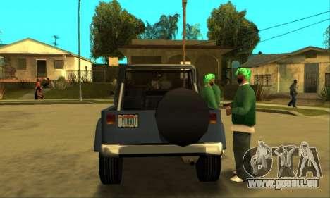 Mesa Final pour GTA San Andreas vue de droite
