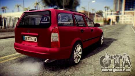 Opel Astra G Caravan pour GTA San Andreas laissé vue