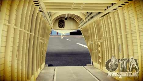 Mi-26 Halo pour GTA San Andreas vue arrière
