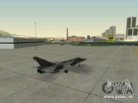 SU-24MR für GTA San Andreas obere Ansicht