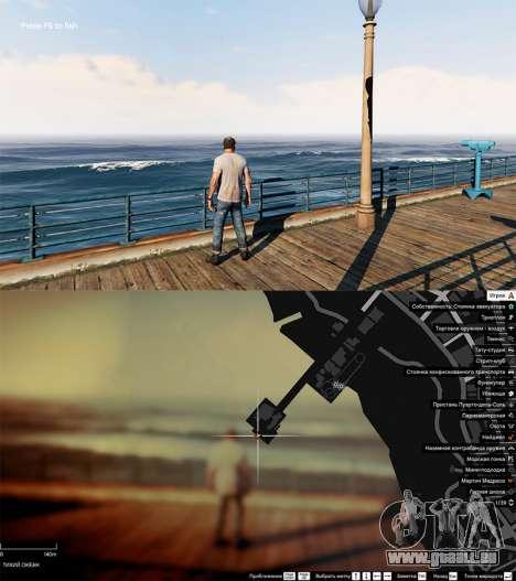 GTA 5 La pêche deuxième capture d'écran
