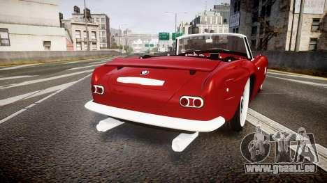 BMW 507 1959 Stock Hamann Shutt VX4 [RIV] pour GTA 4 Vue arrière de la gauche