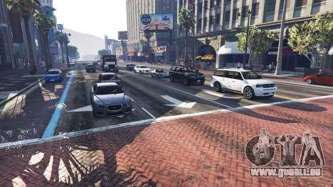 GTA 5 Plus de trafic et de la population deuxième capture d'écran