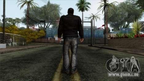 Daniel Garner Skin pour GTA San Andreas deuxième écran