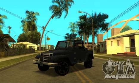 Mesa Final pour GTA San Andreas roue
