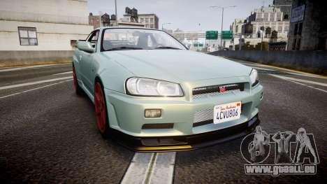 Nissan Skyline R34 GT-R M-Spec Nur pour GTA 4