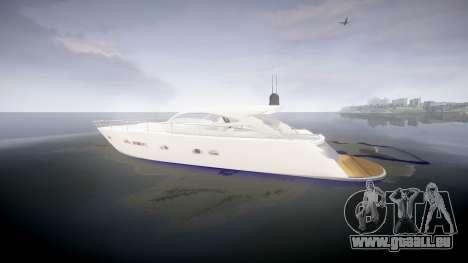 Yacht für GTA 4 linke Ansicht