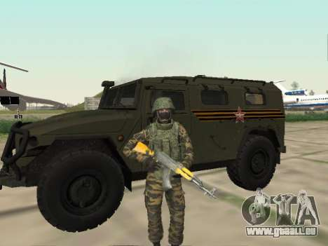 GAZ-2330 Vor für GTA San Andreas linke Ansicht