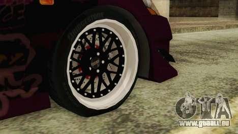 Acura RSX Hinata Itasha für GTA San Andreas zurück linke Ansicht