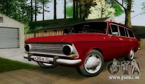 IZH-412 Wagon pour GTA San Andreas