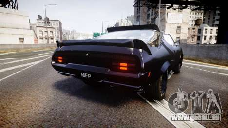 Ford Falcon XB GT351 Coupe 1973 Mad Max für GTA 4 hinten links Ansicht
