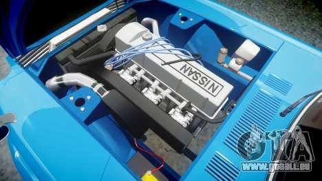Nissan Fairlady Z (S30) Devil Z pour GTA 4 Vue arrière