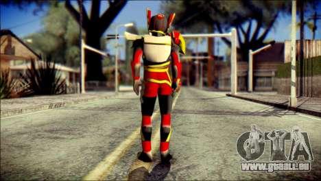 Satria Garuda Bima X pour GTA San Andreas deuxième écran