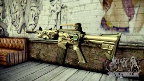 M4A1 Transformer CrossFire pour GTA San Andreas deuxième écran
