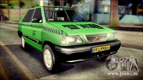 Kia Pride 141 Iranian Taxi pour GTA San Andreas