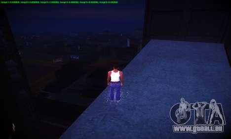 Ebin 7 ENB pour GTA San Andreas neuvième écran