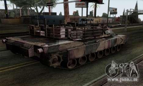 M1A2 Abrams Autumn Camo pour GTA San Andreas laissé vue