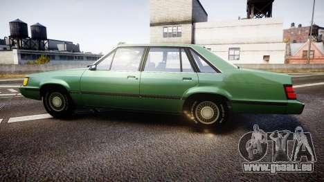 Ford LTD LX 1985 v1.6 pour GTA 4 est une gauche