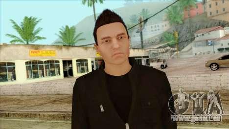 Claude from GTA 5 für GTA San Andreas dritten Screenshot