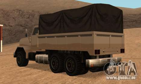 Barracks Fixed für GTA San Andreas Innenansicht