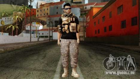 Medic from PMC pour GTA San Andreas