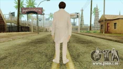 Takedown Redsabre NPC Scientist pour GTA San Andreas deuxième écran