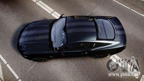 Ford Mustang GT 2015 FBI Unmarked [ELS] für GTA 4 rechte Ansicht