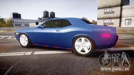 Dodge Challenger RT 2006 Pursuit Vehicle [ELS] pour GTA 4 est une gauche