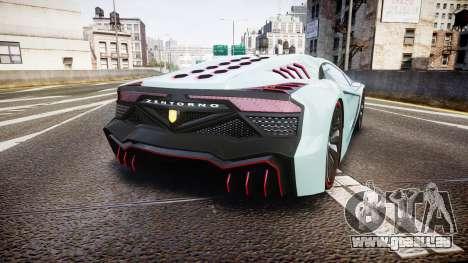 GTA V Pegassi Zentorno pour GTA 4 Vue arrière de la gauche