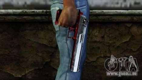 Desert Eagle Polonia für GTA San Andreas dritten Screenshot