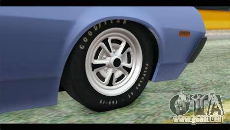 Ford Gran Torino pour GTA San Andreas sur la vue arrière gauche