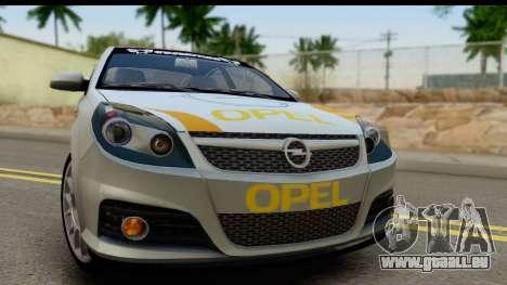 Opel Vectra für GTA San Andreas zurück linke Ansicht