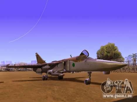 SU-24MR für GTA San Andreas