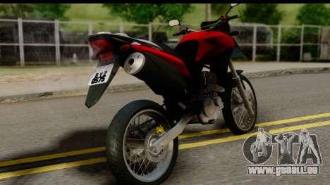 Honda XRE 300 v2.0 pour GTA San Andreas laissé vue