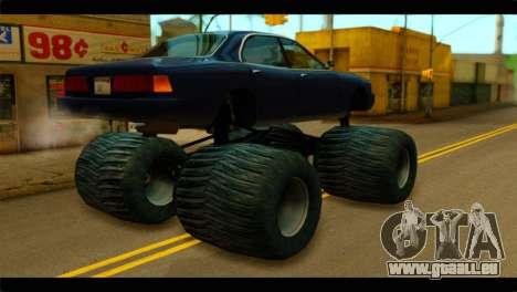 Monster Merit pour GTA San Andreas laissé vue