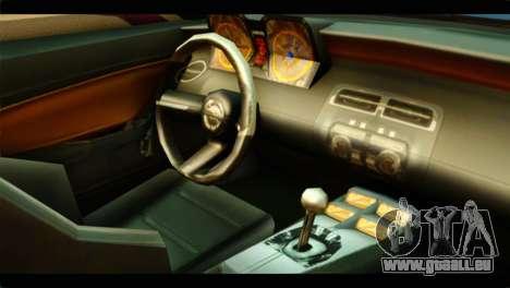 Chevrolet Camaro Indonesia Police für GTA San Andreas rechten Ansicht