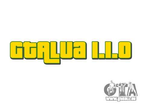 GTALua 1.1.0 pour GTA 5