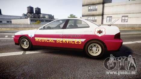 Dinka Chavos Paramedic pour GTA 4 est une gauche