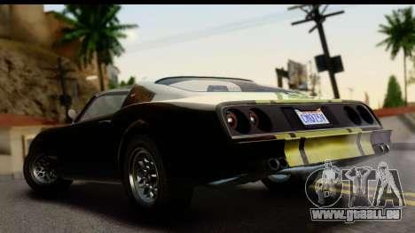 GTA 5 Imponte Phoenix IVF pour GTA San Andreas laissé vue