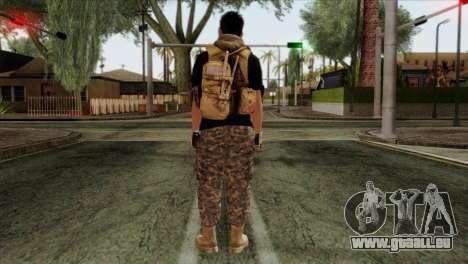 Medic from PMC pour GTA San Andreas deuxième écran